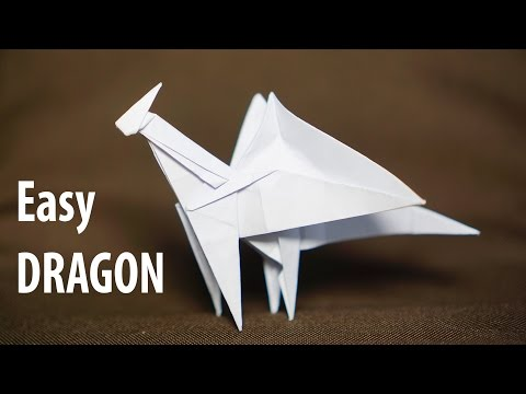 Origami easy Dragon tutorial - DIY (Henry Phạm)