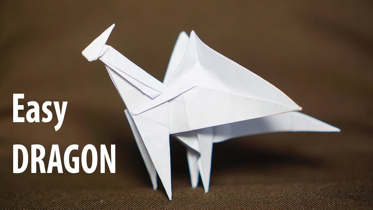 dragon origami easy | Tutorial Origami Handmade - photo#10