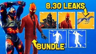 NEW RUIN, INFERNO & NEW STEALTH REFLEX STYLE SKINS! (Fortnite 8.30 Skins & Emotes Leaks)
