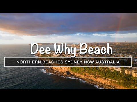 Australia - Dee Why Beach 4K Drone Flyaround