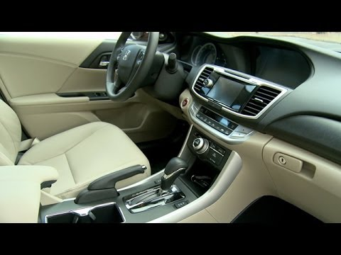2014 honda accord interior review