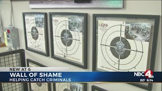 'Wall of Shame' features felons arrested at Columbus gun range