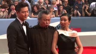 Lee Jung jin, Kim Ki-duk and Cho Min-soo at Pieta Premier...