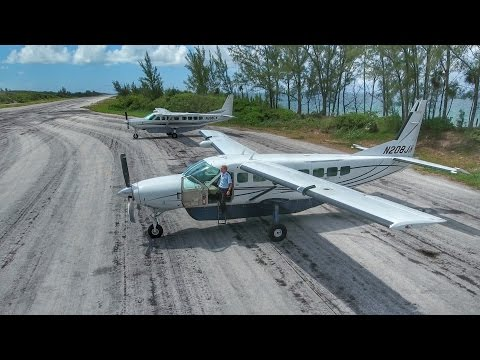 Bahamas Flight VLOG - Private Island Flight