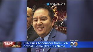 Broadcaster Robert Lee Taken Off Virginia Football Telecast Because Of Name