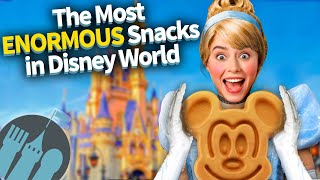 The Most ENORMOUS Snacks in Disney World