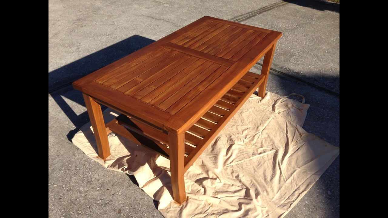 Oceanic Teak Furniture Care U0026 Maintenance Part 2
