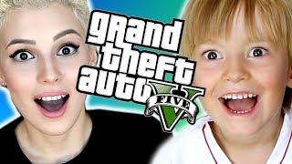 BURAKLA EFSANE ARABA YARIŞI  (GTA 5 Online Komik Anlar)