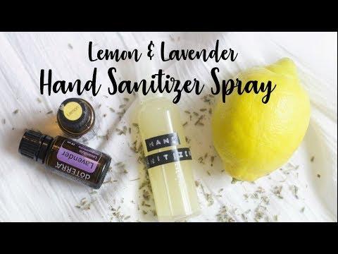 DIY Natural Hand Sanitizer Spray