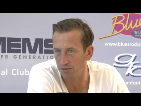 Latest Gillingham FC press conference with Manager Justin Edinburgh