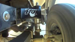 Fox 2.5 inch bump stops and National Leafs, Ford Raptor