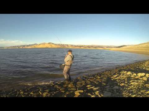 San luis reservior fly fishing youtube for San luis reservoir fishing report