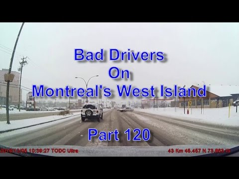 Bad Drivers on Montreal