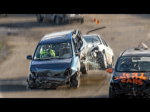 Banger Racing - Angmering Raceway - 1st March 2020
