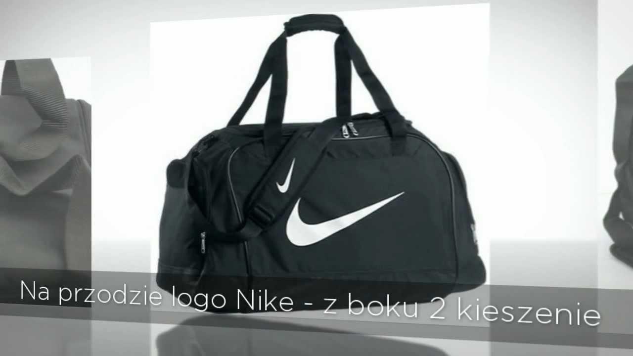 kolejna szansa niższa cena z więcej zdjęć Torba sportowa Nike - idealna na trening
