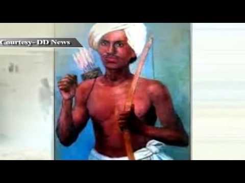 Death anniversary of tribal leader Birsa Munda