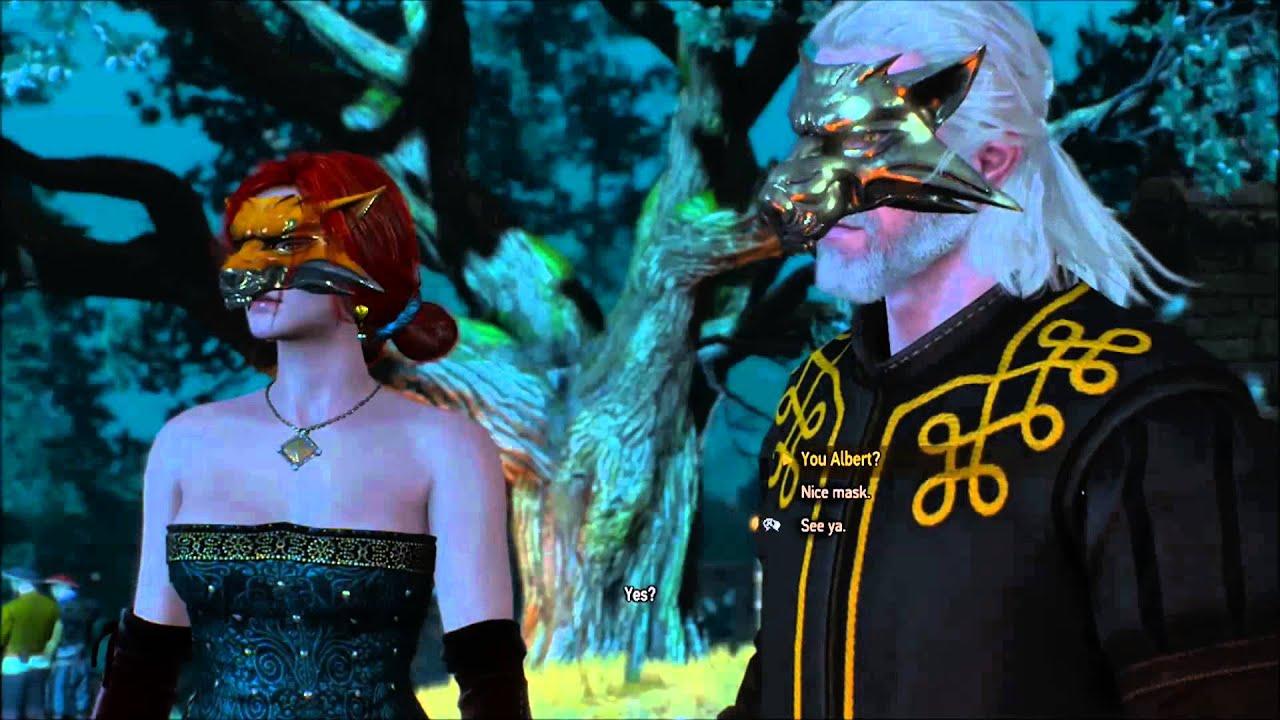 Witcher 3 Wild Hunt Romance Triss Merigold