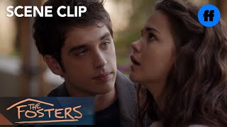 The Fosters | Season 2, Episode 10: Brandon and Callie Kiss | Freeform