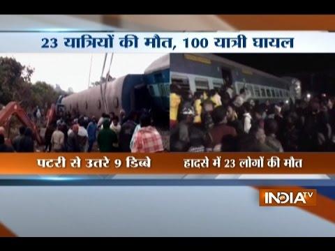 9 coaches of Jagdalpur-Bhubaneswar Hirakhand express train derail, rescue operations underway