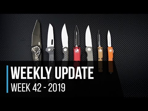Weekly Update 42 - 2019: ZT 0055BLK Sprint, Microtech Restock, Hitch & Timber, CRK Impinda & More