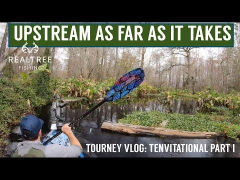 I'll Go Upstream As FAR AS IT TAKES!  TOURNEY VLOG, TENvitational Part 1