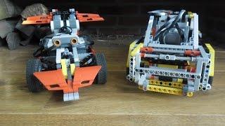 LEGO Mindstorms - Ev3rcar VS NXT-1