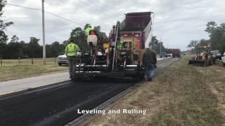Road Resurfacing Process