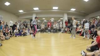 Белоцерковская Арина vs Кузнецов Иван | 1/16 | HIP-HOP дети дебют | Dance2Fly Contest 2