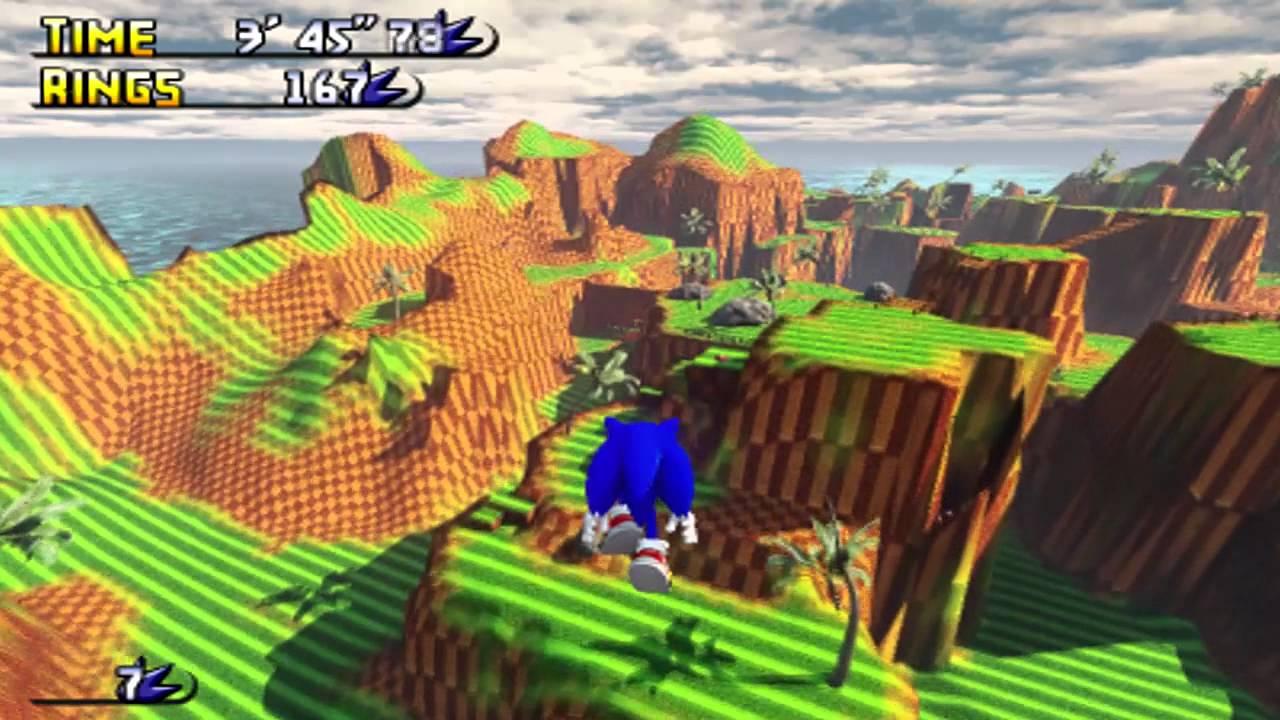 Mario 3d Wallpaper Sonic Gdk Green Hill Paradise Youtube