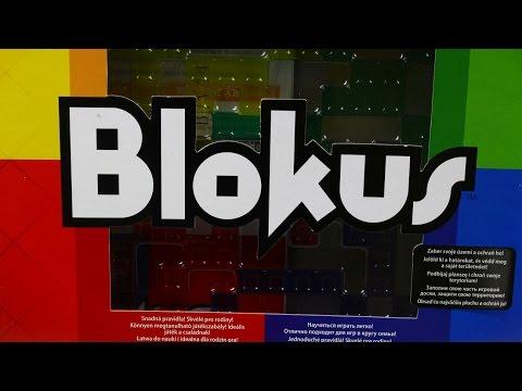 Игра настольная Блокус / Blokus Board Game - Mattel Games - BJV44