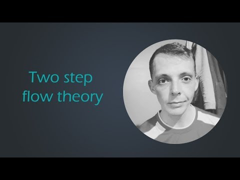 Two Step Flow Theory Explained