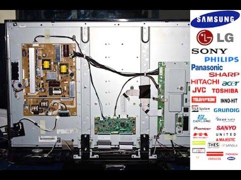 Samsung TV Problem  - How to Repair Fix - LCD Tv Repair Service