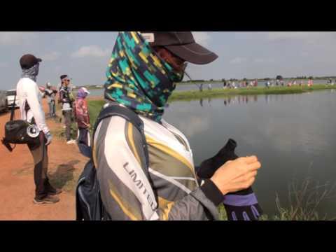 Fish Hunter EP : 14 แข่งตกปลาช่อนเงินแสน Common snakehead 2558 #2