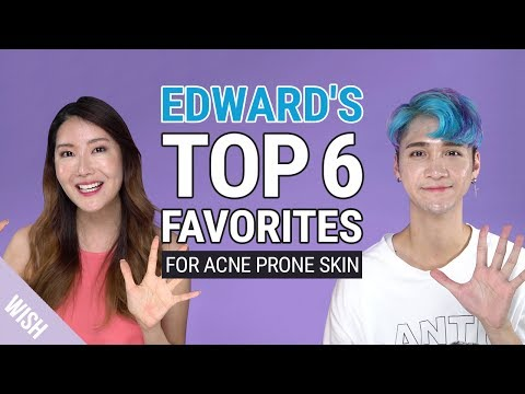 Edward's Top 6 Favorite Skincare Products for Acne Prone Skin on Wishtrend | feat Edward Avila