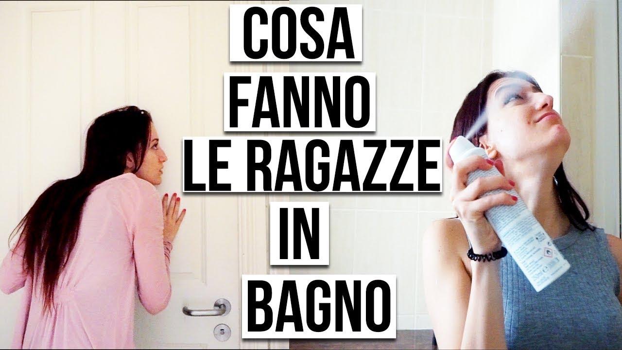 COSA FANNO LE RAGAZZE IN BAGNO! VIDEO DIVERTENTE ANITA STORIES - YouTube