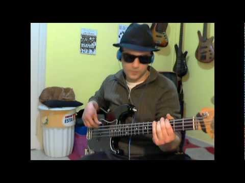 The Blues Brothers - Going Back to Miami (Bass Cover by Jecks)