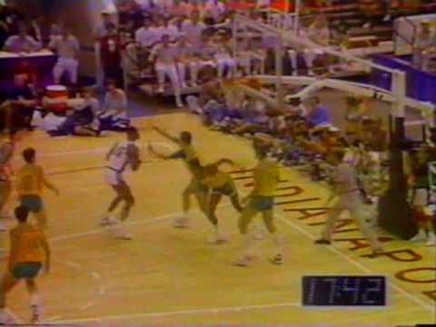 Brasil x EUA - Basquete - Final do Pan 1987 - NA ÍNTEGRA - PARTE 01