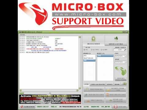 HTC SFR S710 READ CODES by MICROBOX