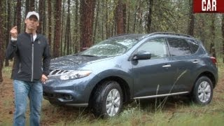2012 Nissan Murano SL AWD First Drive & Review