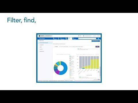 Merrill Corp: Dashboard and Visual Analytics for DatasiteOne