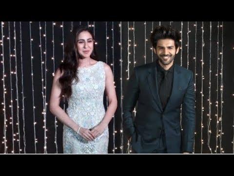 Sara Ali Khan & Kartik Aaryan ARRIVE At Priyanka Nick Wedding Reception