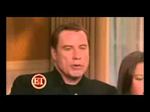 John Travolta Ella Travolta & Kelly Preston