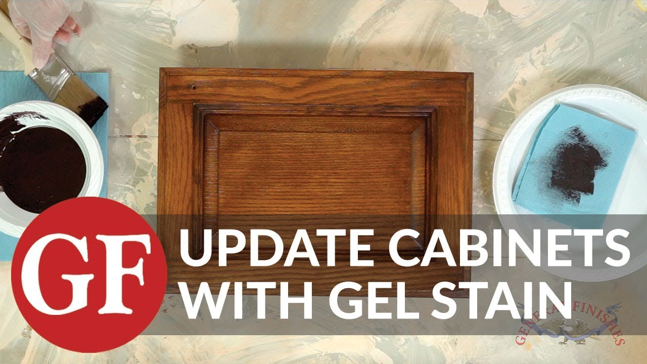 How To Update Existing Cabinets, Furniture U0026 Projects With Gel Stain