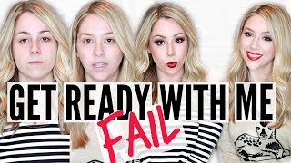 Get Ready With Me | Drugstore FAIL!! +GIVEAWAY!