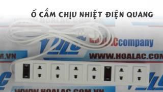 Ổ cắm điện chịu nhiệt Điện Quang 6 lỗ 2m 2 chấu
