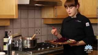 Andrea Potter Cooking: Beet And Yam Soup