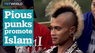 Pious punks in Indonesia rock out to Islamic-inspired songs