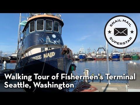 Walking Tour Of Fishermen's Terminal, Seattle