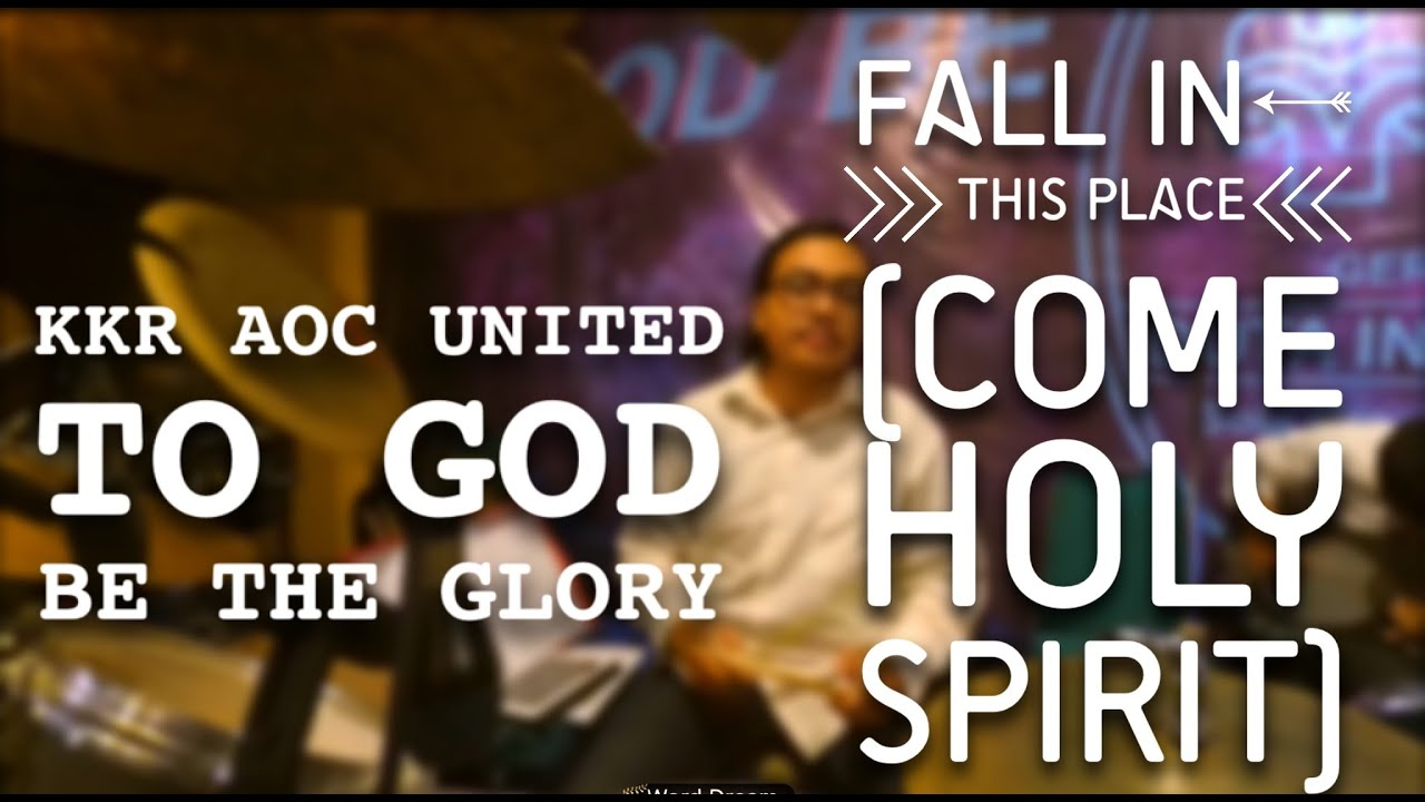 come holy spirit fall in this place