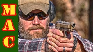New Beretta M9A3 9mm pistol